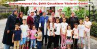 Gaziosmanpaşa'da, Şehit Çocukların Yüzlerini Güldü!