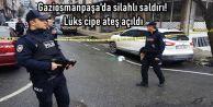Gaziosmanpaşa'da silahlı saldırı! Lüks cipe ateş açıldı