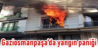Gaziosmanpaşa'da yangın paniği