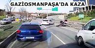 Gaziosmanpaşa'da yolun karşısına geçmeye çalışan yayaya motosiklet çarptı