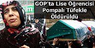 Gaziosmanpaşa'da,Lise Öğrencisi Pompalı Tüfekle Öldürüldü