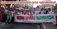 Gaziosmanpaşa'lı gençlerden ,teröre tepki yürüyüşü!
