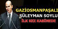 Gaziosmanpaşa'lı Süleyman Soylu ilk kez kabinede!