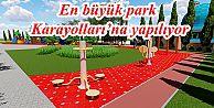 Gaziosmanpaşa'nın en büyük parklarından biri Karayolları'na yapılıyor