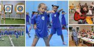 Gaziosmnapaşa'da Çocuklar Yaz Tatilini Dolu Dolu Geçiriyor