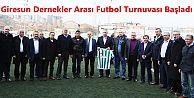Giresun Dernekler Arası Futbol Turnuvası Başladı