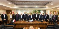 Giresunlu Belediye Başkanları'ndan Gaziosmanpaşa'ya Ziyaret
