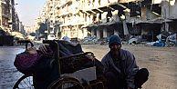 Halep'te sokak sokak çocuklarını ararken...