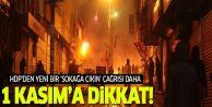 HDP'den yeni bir ''sokağa çıkın'' çağrısı...