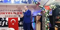 İçişleri Bakanı Soylu, Gaziosmanpaşa'da...