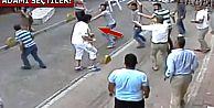 İrlandalı turist Aksaray esnafını tek başına dövdü!