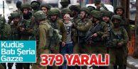İsrail'in saldırısında yaralı sayısı yükseldi