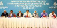 İstanbul Büyükşehir  Belediyesi Gaziosmanpaşa'lı muhtarları dinledi.