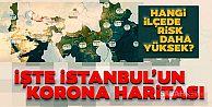 İstanbul'da Corona virüs riski en yüksek ilçeler hangileri?