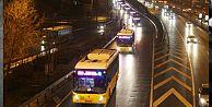 İstanbul'da gece hizmet veren İETT hatlarında değişiklik
