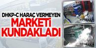 İstanbul'da Haraç vermeyen market kundaklandı