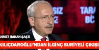 Kılıçdaroğlu: 1,5 Milyon Suriyeliyi Almak Vatana İhanettir