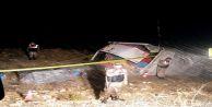 KPSS sorularını taşıyan kamyonet kaza...