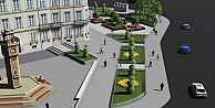 Küçükköy Meydanı Peyzaj Düzenleme Çalışmaları Son Hızla Sürüyor