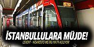 Levent-Hisarüstü metro hattı bugün açılıyor