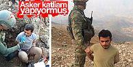 Mehmetçik PKK'lı hainlere bile şefkat elini uzatıyor