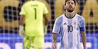 Messi milli takımı bıraktı