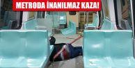 Metroda kalçasına demir saplanan adamın...