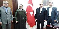 Milletvekili Aday Adayı Çapan, Kaymakam Karadeniz'i ziyaret etti...