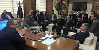 Milletvekili Aday Adayı Ergüneş, G.O.Paşa ilçe teşkilatını ziyaret etti