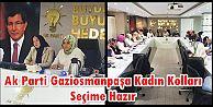 Milletvekili Fatma Benli,Ak Parti GOP Kadın Kolları yönetimiyle bir araya geldi ...