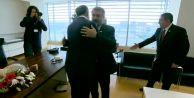 Mustafa Destici Ekrem Dumanlı'yı ziyaret etti