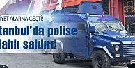 Okmeydanı'nda polise silahlı saldırı!