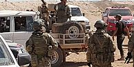 ÖSO, ABD bayrağı yakarak askerlerini protesto etti
