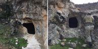 PKK'lı teröristlerin barındığı yerler imha edildi