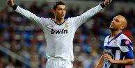 Real Madrid'den Deportivo'ya gol yağmuru