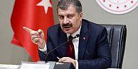 Sağlık Bakanı Fahrettin Koca: İstanbul ve Bursa'da artış eğilimi var