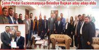 Şahin Pirdal Gaziosmanpaşa Belediye Başkan aday adayı oldu