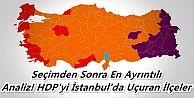 Seçimden Sonra En Ayrıntılı Analiz! HDP'yi İstanbul'da Uçuran İlçeler