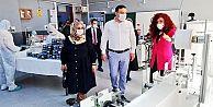 Serkan Acar,Küçükköy Mesleki ve Teknik Anadolu Lisesi'ni Ziyaret etti.