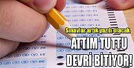 Sınavlarda 'attım tuttu' devri bitiyor!