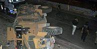 Şırnak'ta askeri araç kaza yaptı