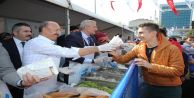 Sultangazi 2. Hamsi Festivali'nde 3 Ton Hamsi Dağıtıldı