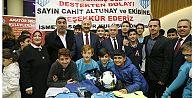Sultangazi Belediyesi,Amatör Kulüplere Malzeme Desteği