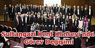 Sultangazi Kent Konseyi'nde Görev Değişimi