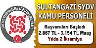 Sultangazi SYDV kamu personeli alım başvuruları başladı
