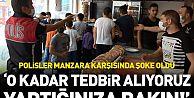 Sultangazi'de bedava döner dağıtıldı, sosyal mesafe hiçe sayıldı