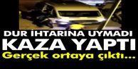 Sultangazi'de Bekçilerden kaçan minibüs kaza yapınca gerçek ortaya çıktı