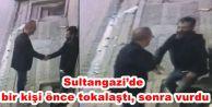 Sultangazi'de bir kişi önce tokalaştı, sonra vurdu