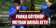 Sultangazi'de çocuk hırsızı yakalayıp önce itiraf ettirdiler sonra dövdüler