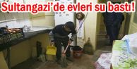 Sultangazi'de evleri su bastı!